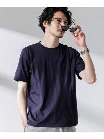 【SALE/50%OFF】nano・universe Pattern made fit Tシャツ ナノユニバース カットソー Tシャツ ネイビー カーキ ブラック ホワイト