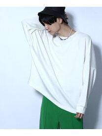 HARE (M)ドルマンカット/LS ハレ カットソー Tシャツ ホワイト グレー ピンク ブラック レッド【送料無料】