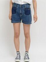 DENIM SHORT PANTS/パンツ