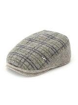 起毛柄ハンチング帽