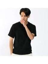 4面パネル強撚リンクスニットTシャツ