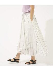 【SALE/50%OFF】AZUL by moussy カラフルストライプロングスカート アズールバイマウジー スカート スカートその他 ホワイト