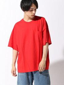 【SALE/23%OFF】(M)GILDANリメイクBIGポケットTシャツ ウィゴー カットソー【RBA_S】【RBA_E】