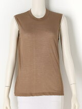 COTTON SILK Sleeveless Top