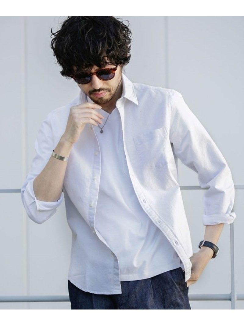 【SALE/20%OFF】オックスレギュラーカラーシャツ ナノユニバース シャツ/ブラウス【RBA_S】【RBA_E】【送料無料】