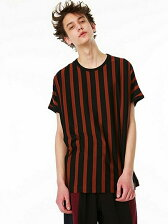 BLOCKS STRIPE DOLMAN S/S BIG-T