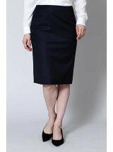 S/Wギャバストレッチスカート
