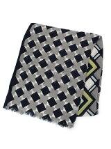サイケ幾何柄スカーフ