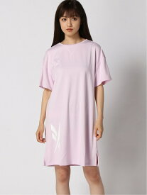 【SALE/60%OFF】Reebok Classic クラシックス CRTドレス [W CL CRT DRESS] リーボック リーボック ワンピース 半袖ワンピース ピンク ブラック
