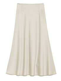 SNIDEL バリエーションナロースカート スナイデル スカート ロングスカート ホワイト ブラウン オレンジ【送料無料】