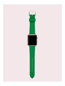 【SALE/50%OFF】kate spade new york グリーン シリコン 38/40mm アップル ウォッチ ストラップ ケイトスペードニューヨーク ファッショングッズ 腕時計【送料無料】