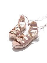 【elysess】 laceup sandals