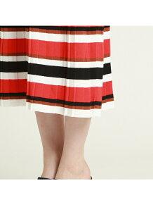 ボーダーニットスカート
