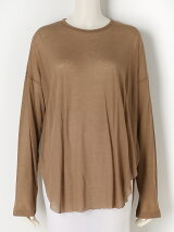 COTTON SILK Long Sleeve Big Top