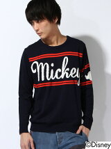 *MICKEY LOGO KNIT