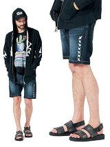 Cygnus easy denim shorts