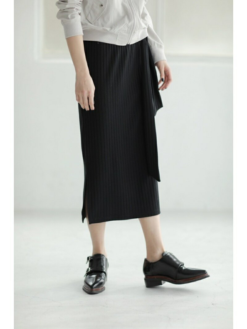 【SALE/50%OFF】AZUL by moussy リボンミディタイトスカート アズールバイマウジー スカート【RBA_S】【RBA_E】