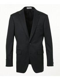 CK CALVIN KLEIN 【スーツ】ミニスターウールギャバジンスーツジャケット CK カルバン・クライン ビジネス/フォーマル スーツ ブラック ネイビー【送料無料】