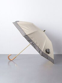 【SALE/30%OFF】UNITED ARROWS <Athena New York(アシーナ ニューヨーク)>HUDSON ストライプ 折りたたみ 晴雨兼用傘 ユナイテッドアローズ ファッショングッズ 日傘/折りたたみ傘 ベージュ ブラック【送料無料】
