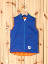 COLOR STITCH WORK VEST