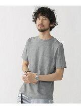 //ドットJQDボーダーTシャツ