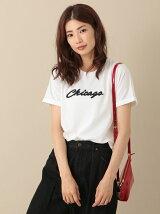 RAY CASSIN FAVORI RAY ロゴ刺繍Tシャツ