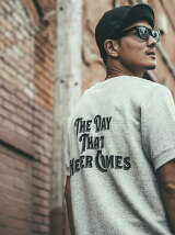 VINTAGE  THE DAY SHORT SLEEVE SWEAT