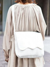 Fun&Daily/Wave Flap Canvas Shoulder