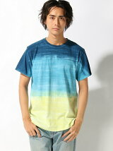 GOOD ON/(M)GO HORIZON DYE SS TEE