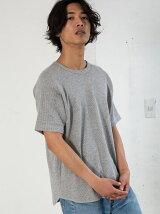 【WEB限定】 SC ★★DRY ワッフル C/N S/S Tシャツ <機能性素材> 吸水速乾