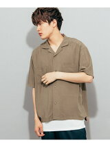 オープンカラーシャツ(5分袖)