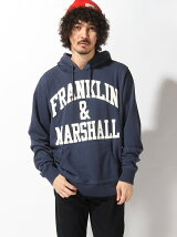 FRANKLIN&MARSHALL/(M)フードパーカ-