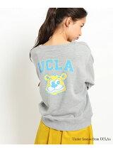 【別注】UCLA プリント裏毛トップス