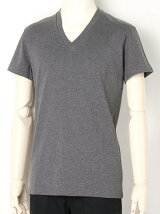 GIZA COTTON V-NECK T-SHIRTS