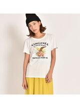 VIRGINIAプリントTシャツ