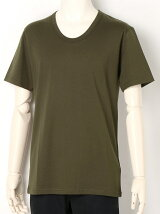 GIZA COTTON U-NECK T-SHIRTS