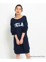 【別注】UCLA ロゴスウェットワンピース