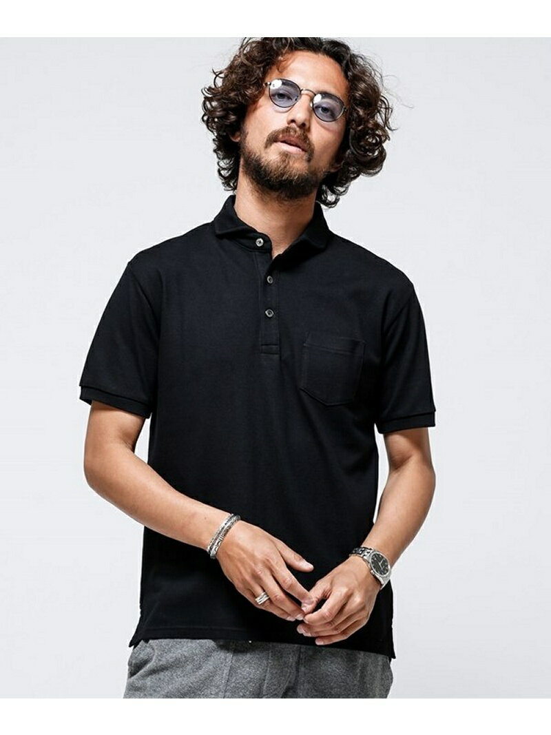 【SALE/20%OFF】Anti Soaked POLOシャツ ナノユニバース カットソー【RBA_S】【RBA_E】【送料無料】