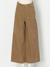 FINE CORDUROY Wide Pants