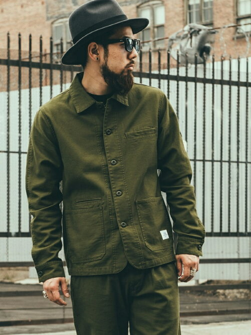 MILITARY COVER ALL JACKET