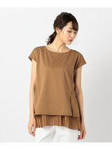 Pleats Layered カットソー