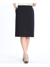 【SALE/19%OFF】INED スマートタイトスカート イネド スカート タイトスカート ネイビー ブラック【送料無料】