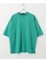 ピグメントスウェットシャツ(5分袖)