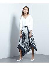 スカーフロングスカート
