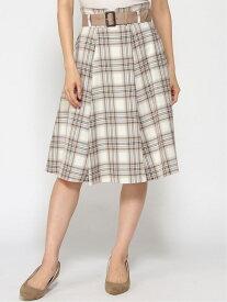 LAISSE PASSE タータンチェックSK レッセパッセ スカート【送料無料】