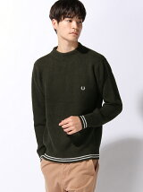 (M)MOCK NECK SWEAT KNIT