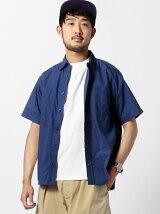 BEAMS / ルーズフィット カラーブロードシャツ