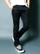 COLD MERCERIZE STRETCH TIGHT CHINO PANTS