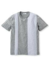 オックスストライプドッキングTシャツ
