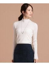 Wool Silk Cashmere リブニット